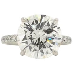 INTERNALLY FLAWLESS F Color GIA Certified 1.80 Carat Round Brilliant Cut Diamond