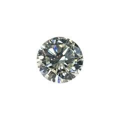 EGL Certified 6.02 Carat Round Brilliant Cut Diamond J, SI2