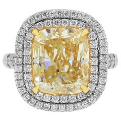 EGL Certified 8.06 Carat Engagement Ring
