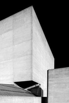 Brutalist Architecture Photograph, National Theatre, London, by Egle Kisieliute