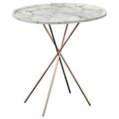 Egnazia White Carrara Coffee Table by Birgit Lohmann