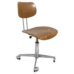 Egon Eiermann Midcentury Swivel Desk Chair