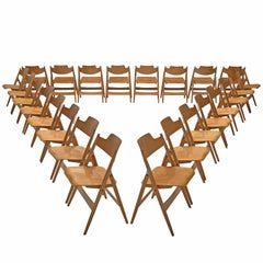 Egon Eiermann Set of Twenty-Four Folding Chairs SE18