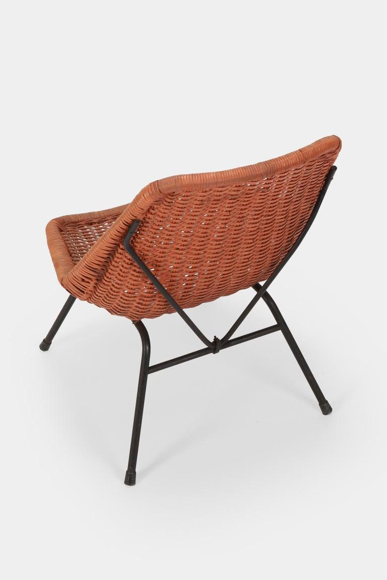 Egon Eiermann Single Chair, 1950s For Sale 3