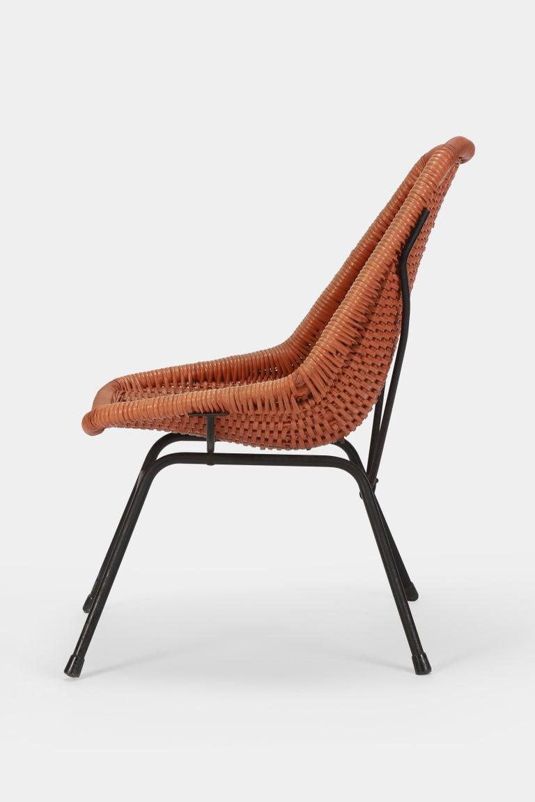 Mid-Century Modern Egon Eiermann Single Chair, 1950s For Sale