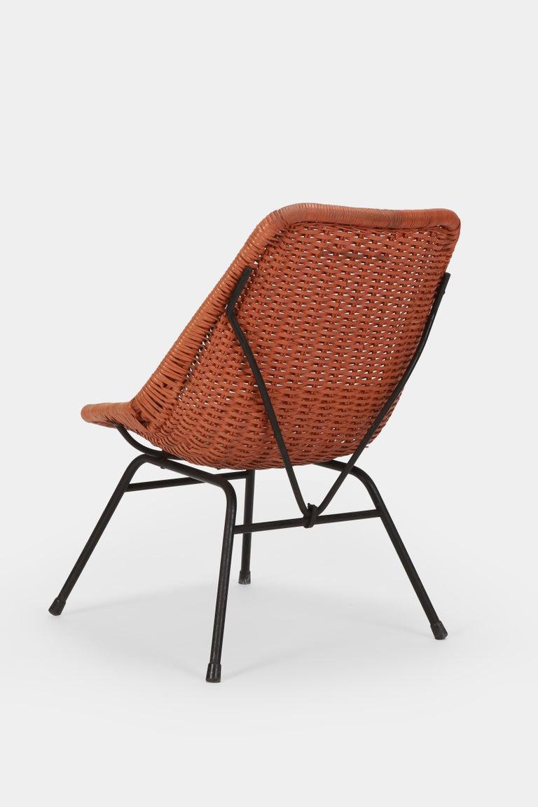 German Egon Eiermann Single Chair, 1950s For Sale