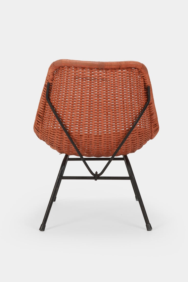 Egon Eiermann Single Chair, 1950s In Good Condition For Sale In Basel, CH