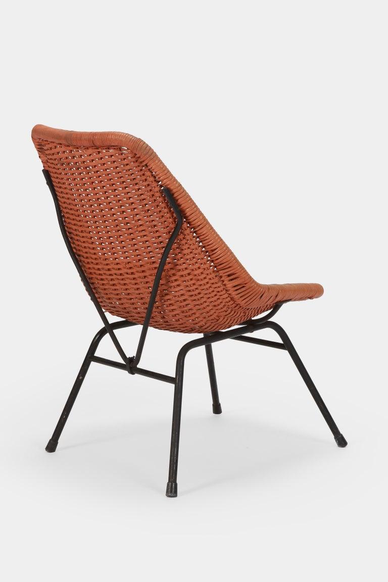 Mid-20th Century Egon Eiermann Single Chair, 1950s For Sale