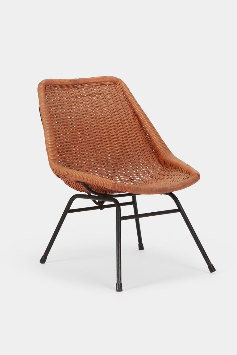 Egon Eiermann Single Chair, 1950s For Sale 1