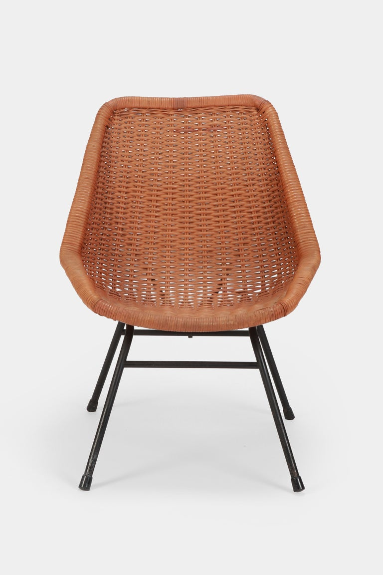 Egon Eiermann Single Chair, 1950s For Sale 2