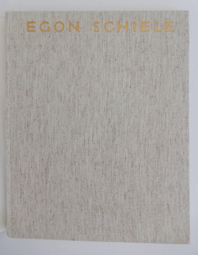 Paper Egon Schiele, The Graphic Work, Reference Book by Otto Kallir, 1970 For Sale
