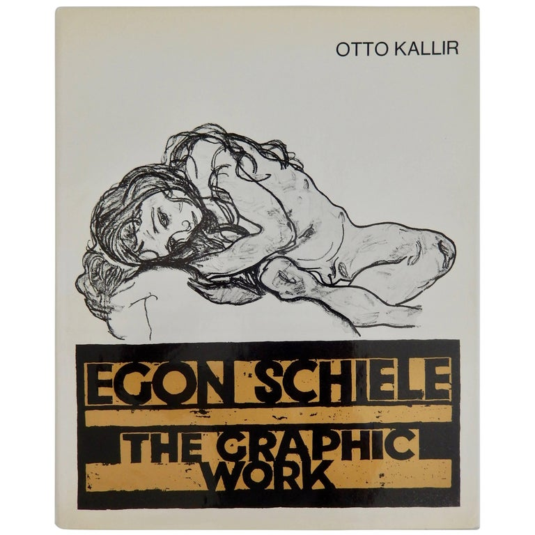 Egon Schiele, The Graphic Work, Reference Book by Otto Kallir, 1970 For Sale