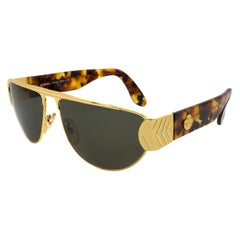 Egon Von Furstenberg aviator sunglasses, Italy 80s