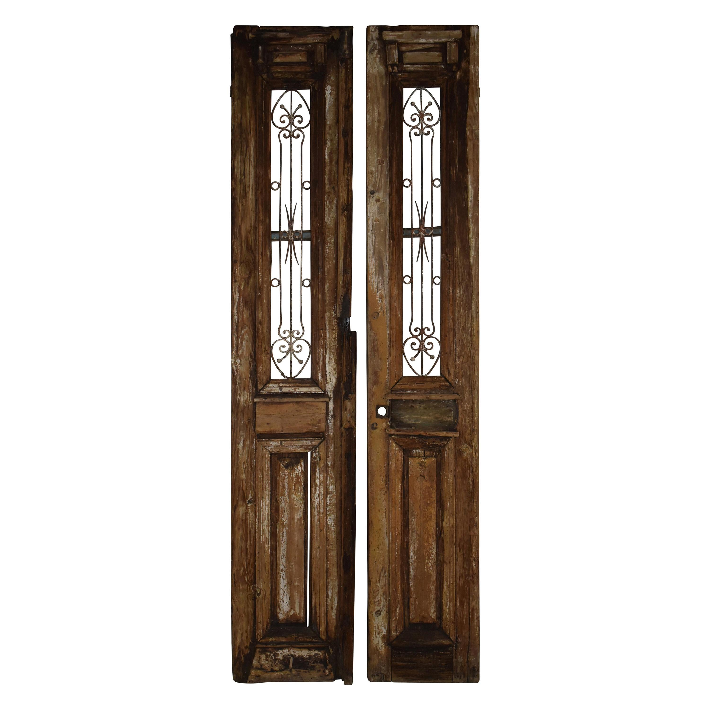 Egyptian Doors, circa 1900