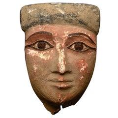 Egyptian Mummy Mask, Late Period, ca. 700-30 B.C.