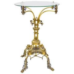 Egyptian Revival Side Table