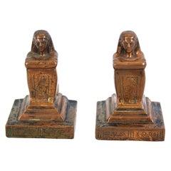 Egyptian Revival Sculptures