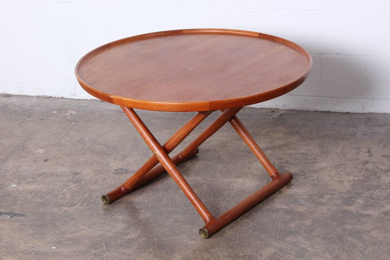 Egyptian Table by Mogens Lassen for A.J. Iversen For Sale 3
