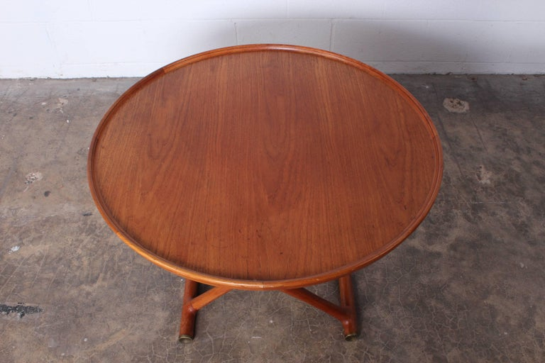 Egyptian Table by Mogens Lassen for A.J. Iversen For Sale 4