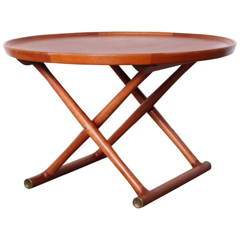 Egyptian Table by Mogens Lassen for A.J. Iversen
