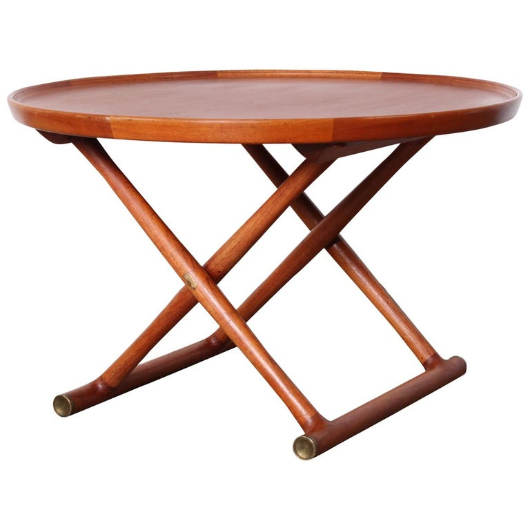 Egyptian Table by Mogens Lassen for A.J. Iversen For Sale