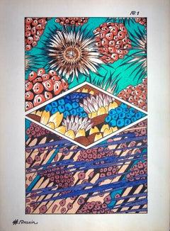 Coral Reef, 1926 - Original Lithograph