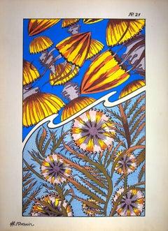 Oceanic Batik, 1926 - Original Lithograph