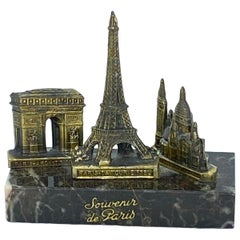 Eiffel Tower, Sacré-Coeur, Arc de Triomphe Souvenir Building Architectural Model