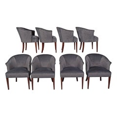 Eight Armchairs in Style of Edward Wormley