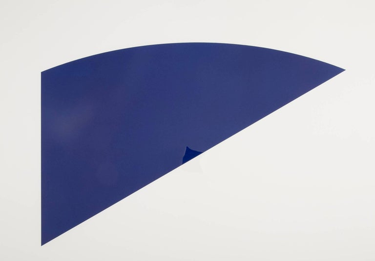 A lithograph by Ellsworth Kelly titled