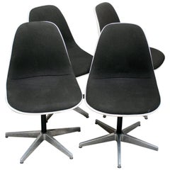 Eight Chairs by Charles & Ray Eames for Herman Miller, 1960