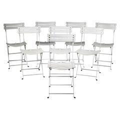 "Eight Chairs ""Celestina"" by Marco Zanuso for Zanotta, Italy, 1978"