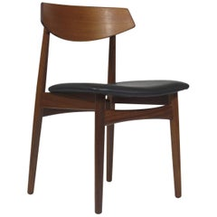 Eight Danish Teak Dining Chairs