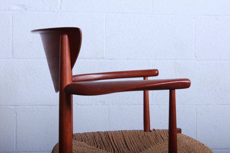 Eight Dining Chairs by Peter Hvidt and Orla Mølgaard Nielsen For Sale 2