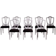 Eight European Chairs, Early 20th Century