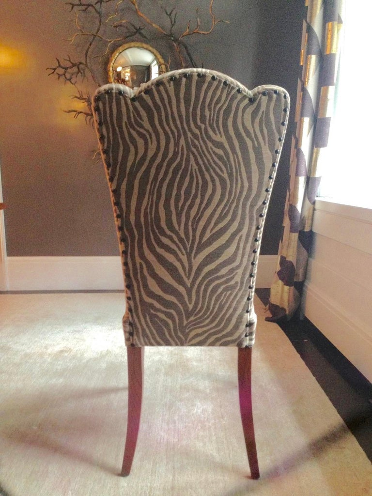 Eight French 1940s Dining Chairs For Sale 13