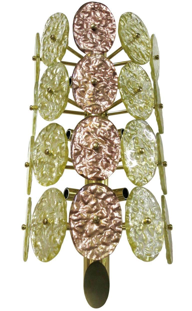 Modern Eight Galattico Sconces by Fabio Ltd For Sale