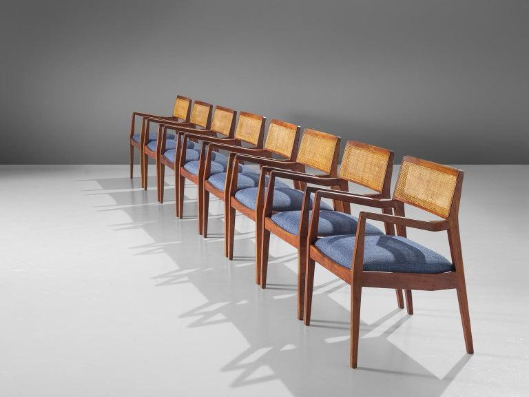 Mid-Century Modern Eight Jens Risom Walnut