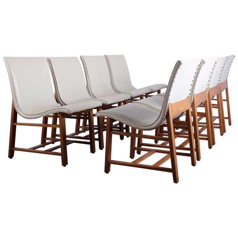 """Eight """"Kleinhans"""" Chairs by Charles Eames and Eero Saarinen, 1939 For Sale"""