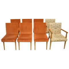 Eight Modern Chairs Widdicomb Teak Frame T. H. Robsjohn & Gibbings