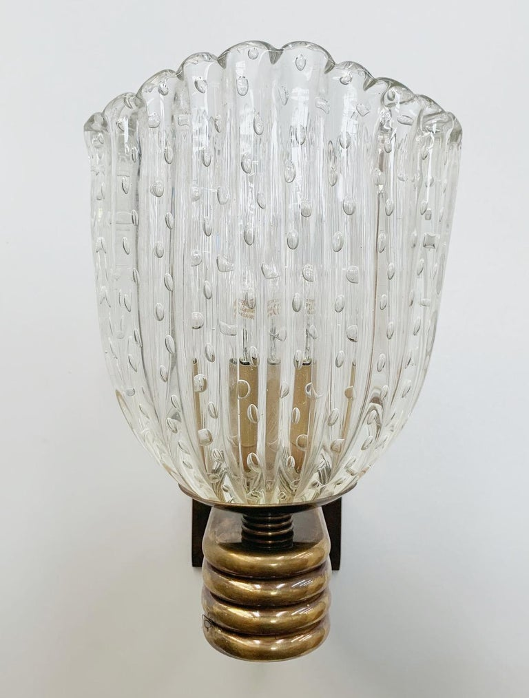 Single Pulegoso Sconce In Good Condition For Sale In Palm Springs, CA