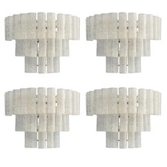 Eight Tubes Sconces by Mazzega