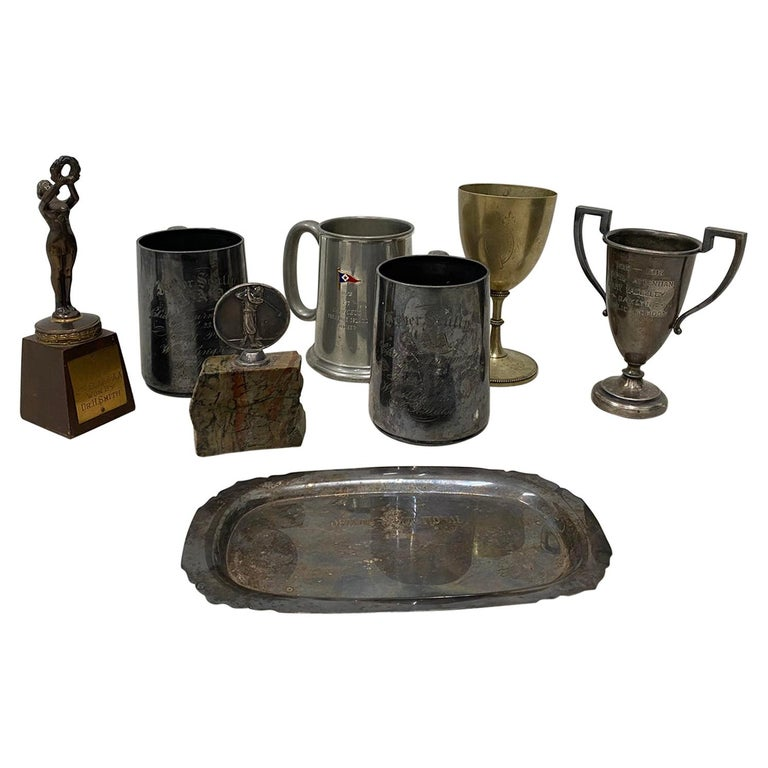 Eight Various 19th-20th Century Awards For Sale