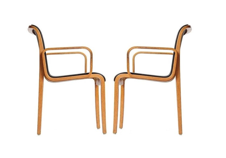American Eight Vintage Armchairs by Bill Stephens for Knoll
