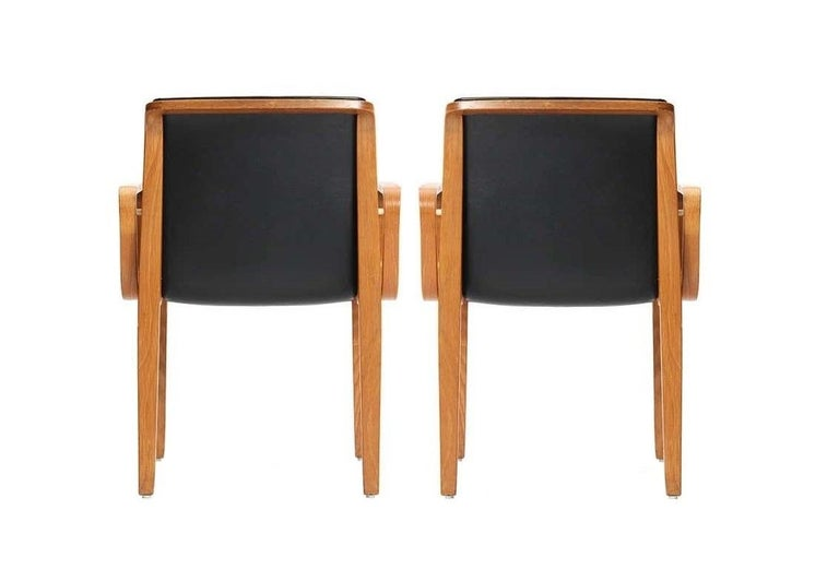 Eight Vintage Armchairs by Bill Stephens for Knoll 1