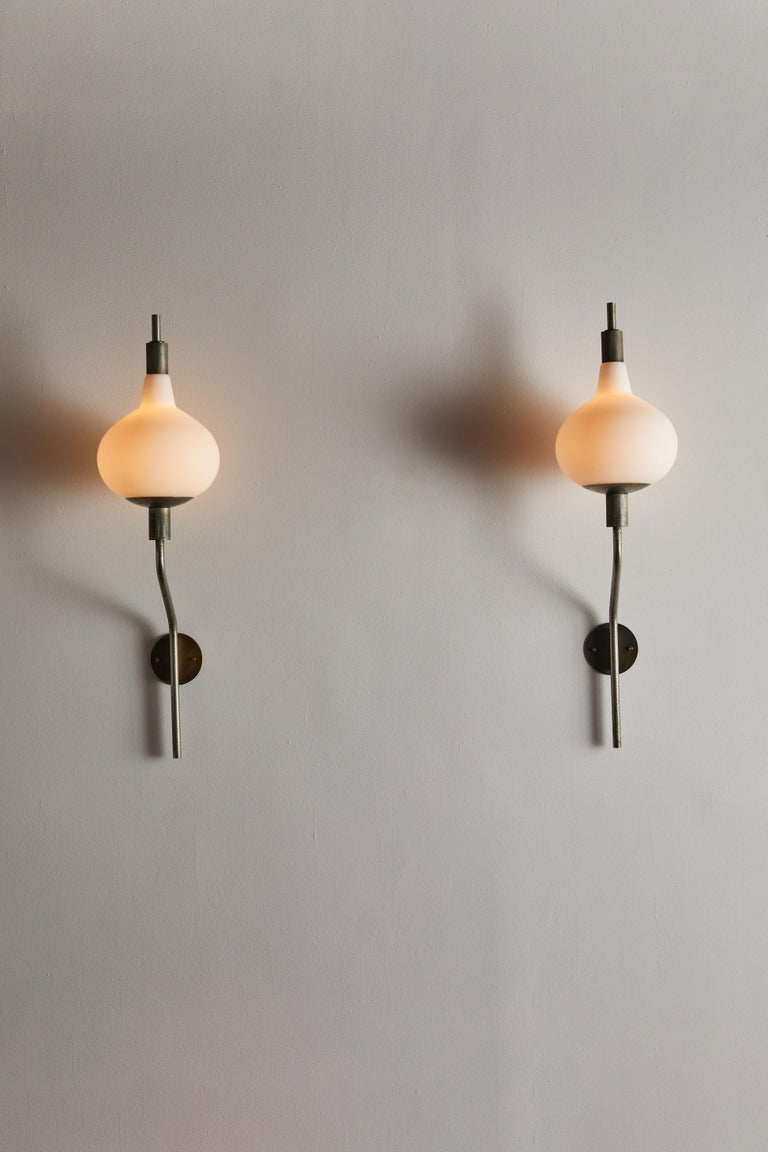 Mid-20th Century Eight Wall Lights by Candle For Sale