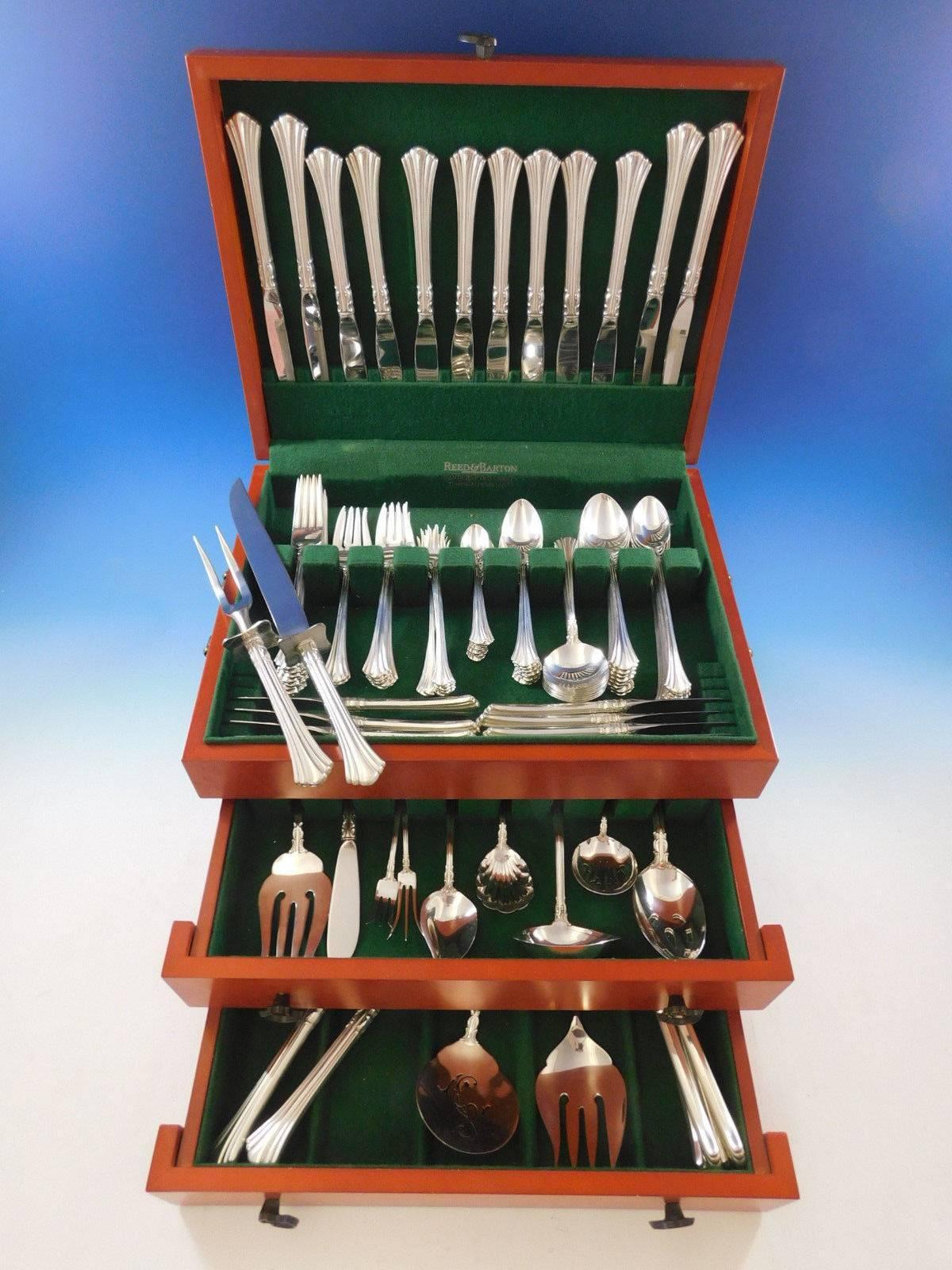 Eighteenth Century by Reed /& Barton Sterling Silver Salad Set 2pc Custom