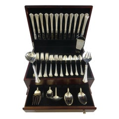 Eighteenth Century by Reed and Barton Sterling Silver Flatware Set Service 57 Pc