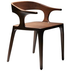 Eileen Chair, by Reda Amalou, 2019, American Walnut , oak or black oak finish