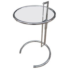 Eileen Gray Adjustable Side Table E1027 by ClassiCon